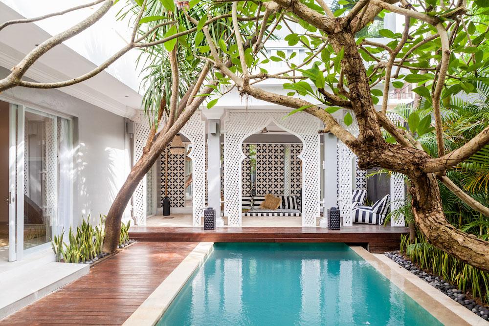The Palm Tree House Bali Luxury Yoga Retreat In Bali Canggu