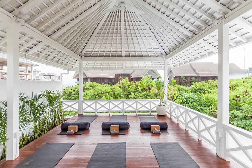 Outdoor yoga mats